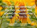 You are the average of people – Pic –Qoutes