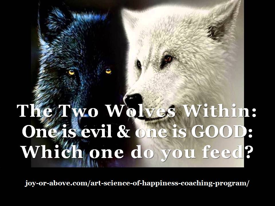 The Two Wolves within