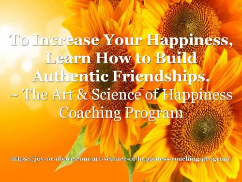 Happiness Coaching Program - Friendship
