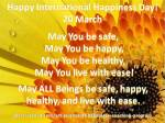 UN Int Happiness Day