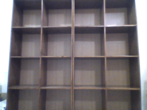 2 Books Shelving Units