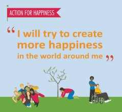 Happiness pledge