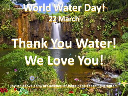 World Water Day - 22 March