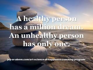 A healthy person